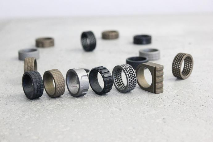 Gun Inspired Rings