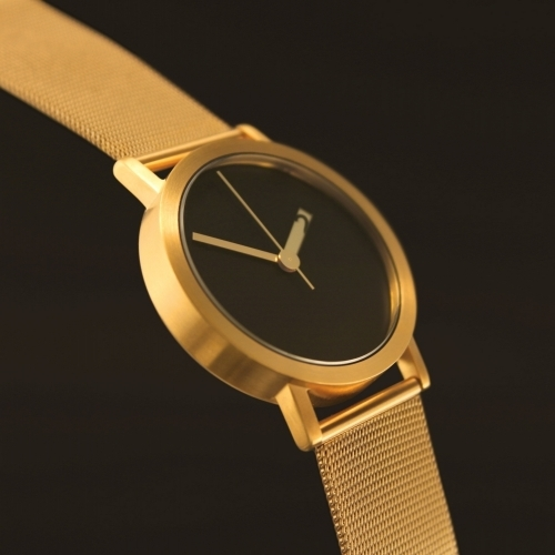 Large Gold Mesh Watch   Extra Normal Grande   Normal Watches