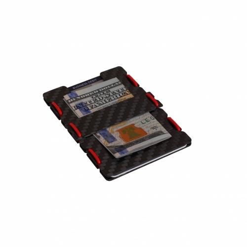 Ultra Carbon Fiber Wallet - Red