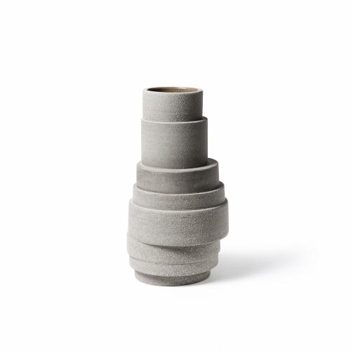 Pilla Ceramic Vase Clay-Brown | Atipico