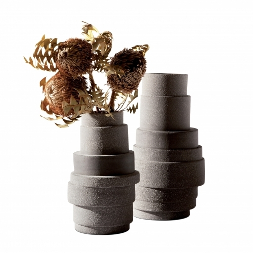 Pilla Ceramic Vase Clay-Brown | Atipico