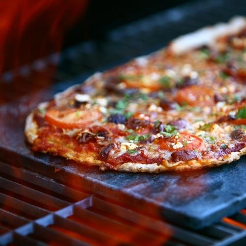 Soapstone Flat Bread Pizza Stone, Sparq Home