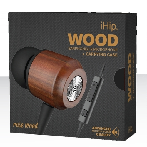 Rose Wood Earphone