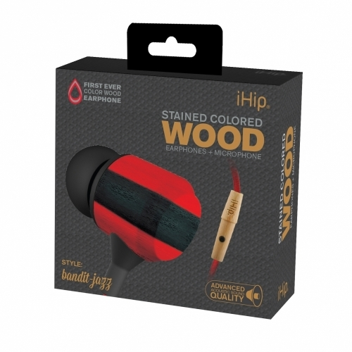Bandit Jazz Wood Earphone