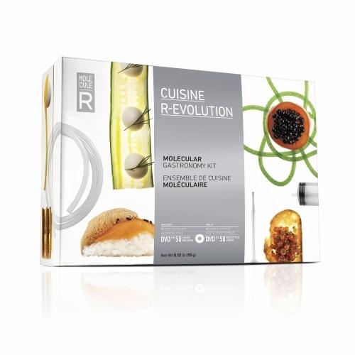Gastronomy Kit | Cuisine R-Evolution & Cookbook | Molecule-R