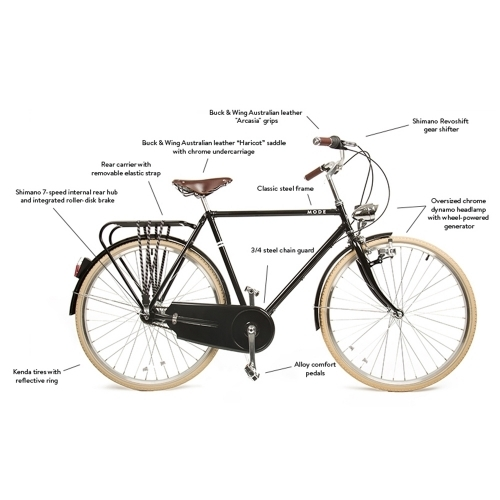 Hugo, Mozie Bicycles