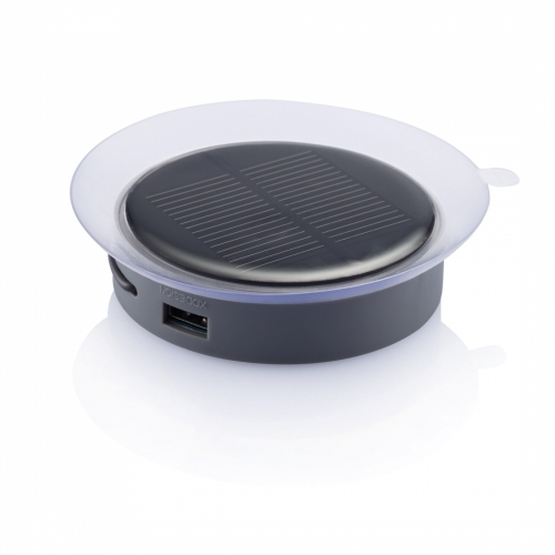 Port Solar Charger, Grey, XD Design