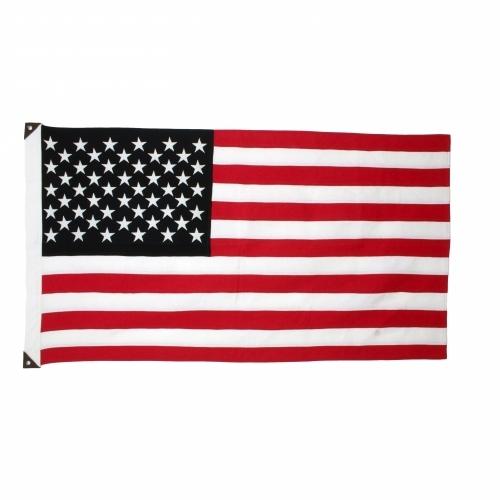 Wool American Flag, B+W, Savarin & Charton