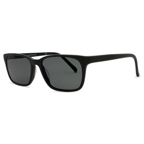 Matte Black Sunglasses | Francesa Matte Black | Parkman