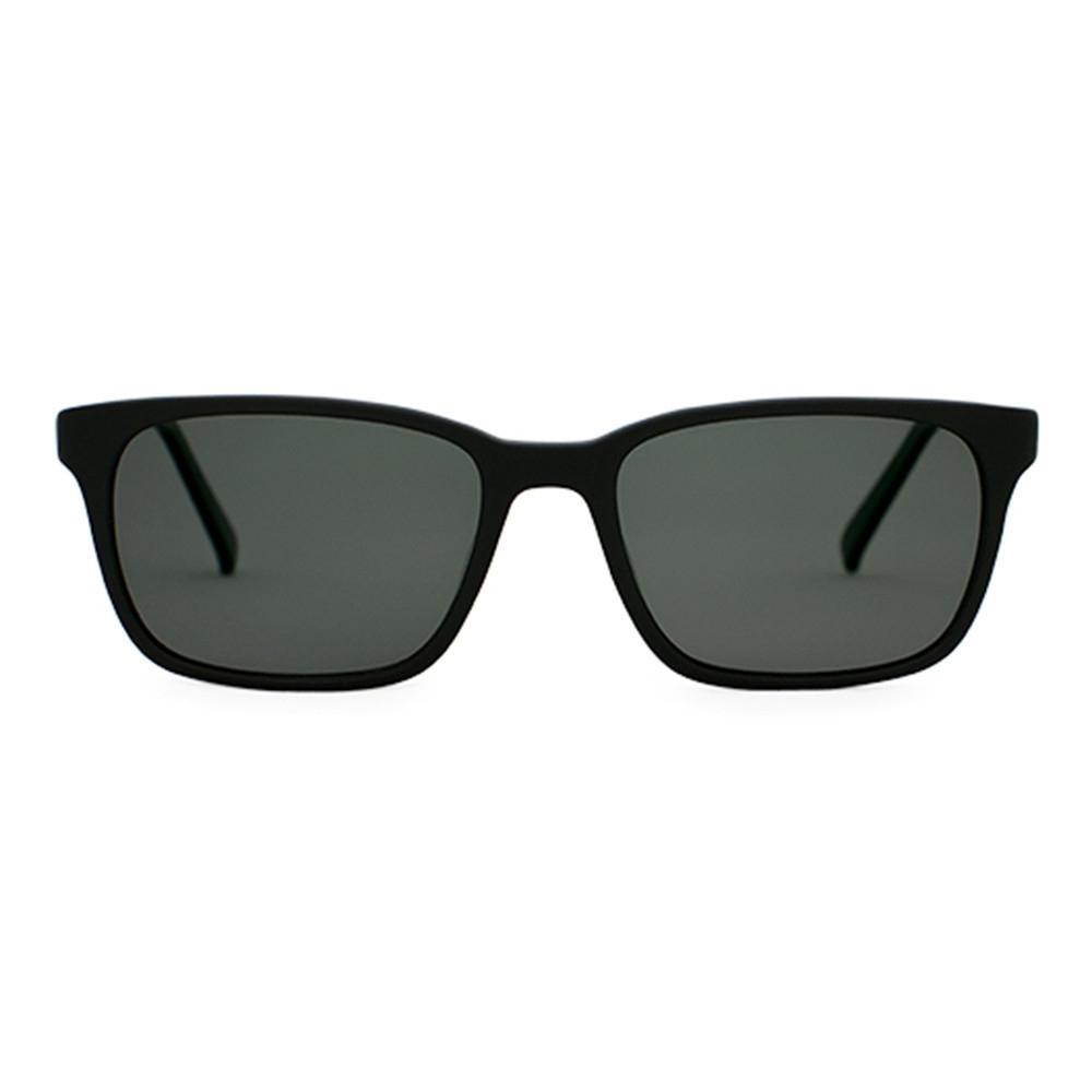 Matte Black Sunglasses   Francesa Matte Black   Parkman