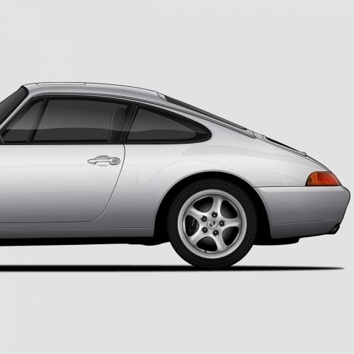 Porsche 911 Generations Print, Unrivaled