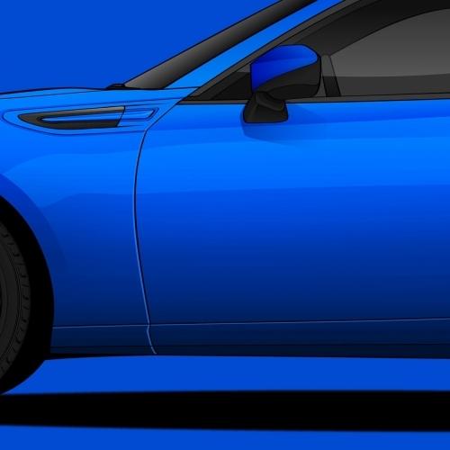 Subaru BRZ Print, Unrivaled