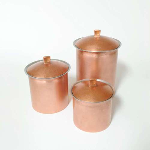 Tin Copper Canister