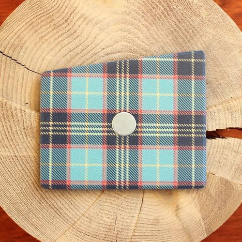 Wooden Pocket Square | Tartan