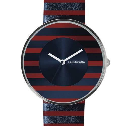 Cielo Stripes Red   Lambretta Watches
