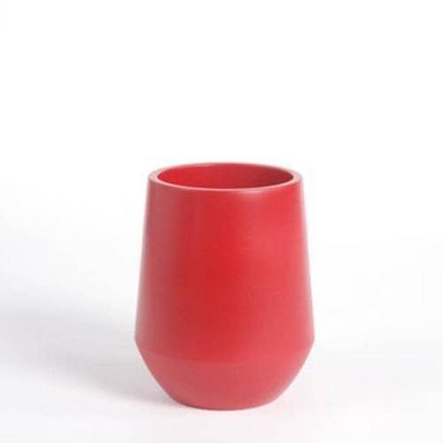 Fusion Vase, Red