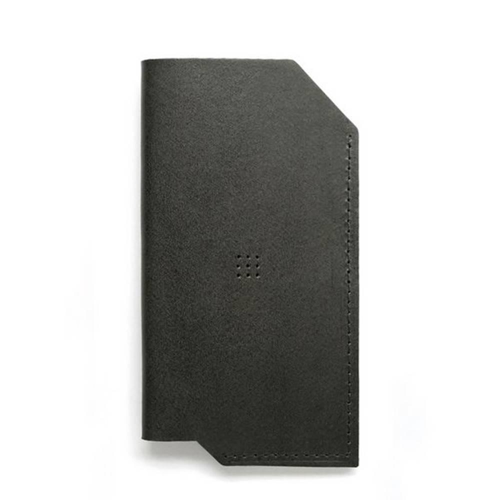 502 iPhone 6/6 PLUS Sleeve, Charcoal - Leather iPhone Sleeve