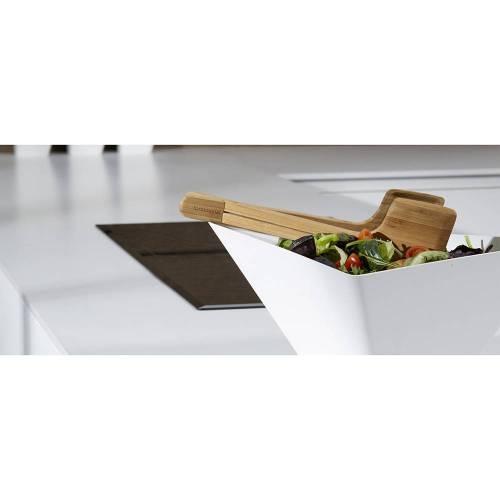 Servers / Tongs- Modern Sculptural Salad Tongs