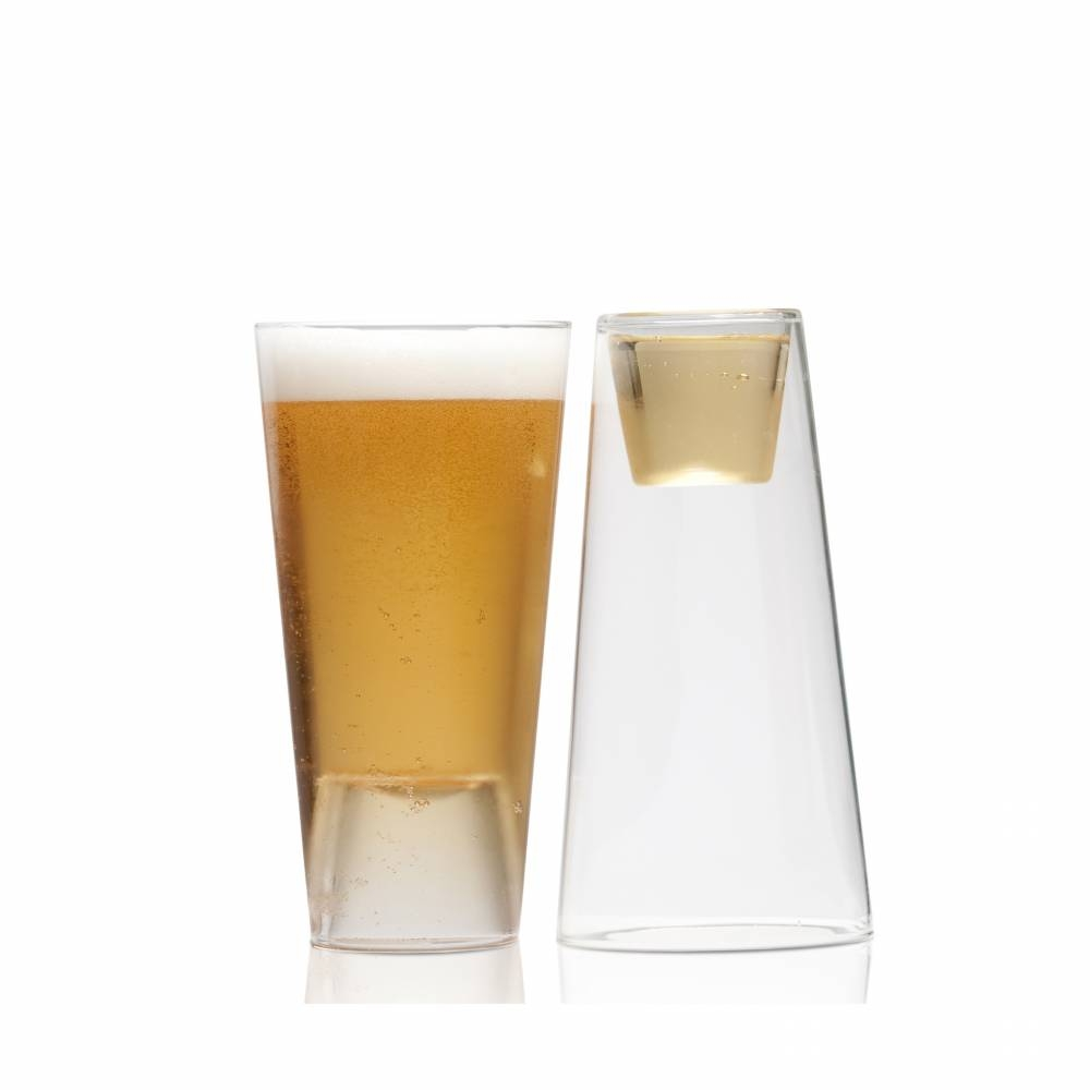 Beer/Shot Glass, 2-Pack | Highwave