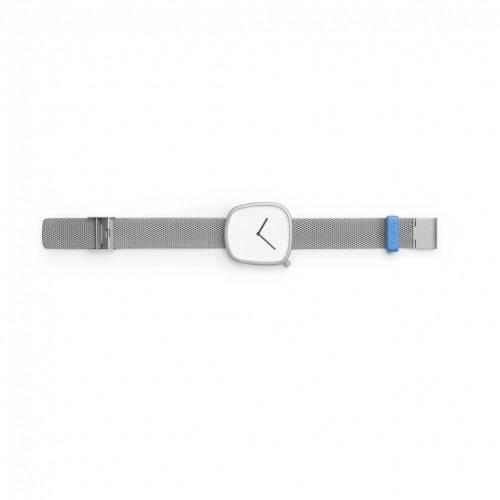 Pebble 06 - Steel on steel Strap Watch