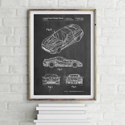Ferrari Patent Print
