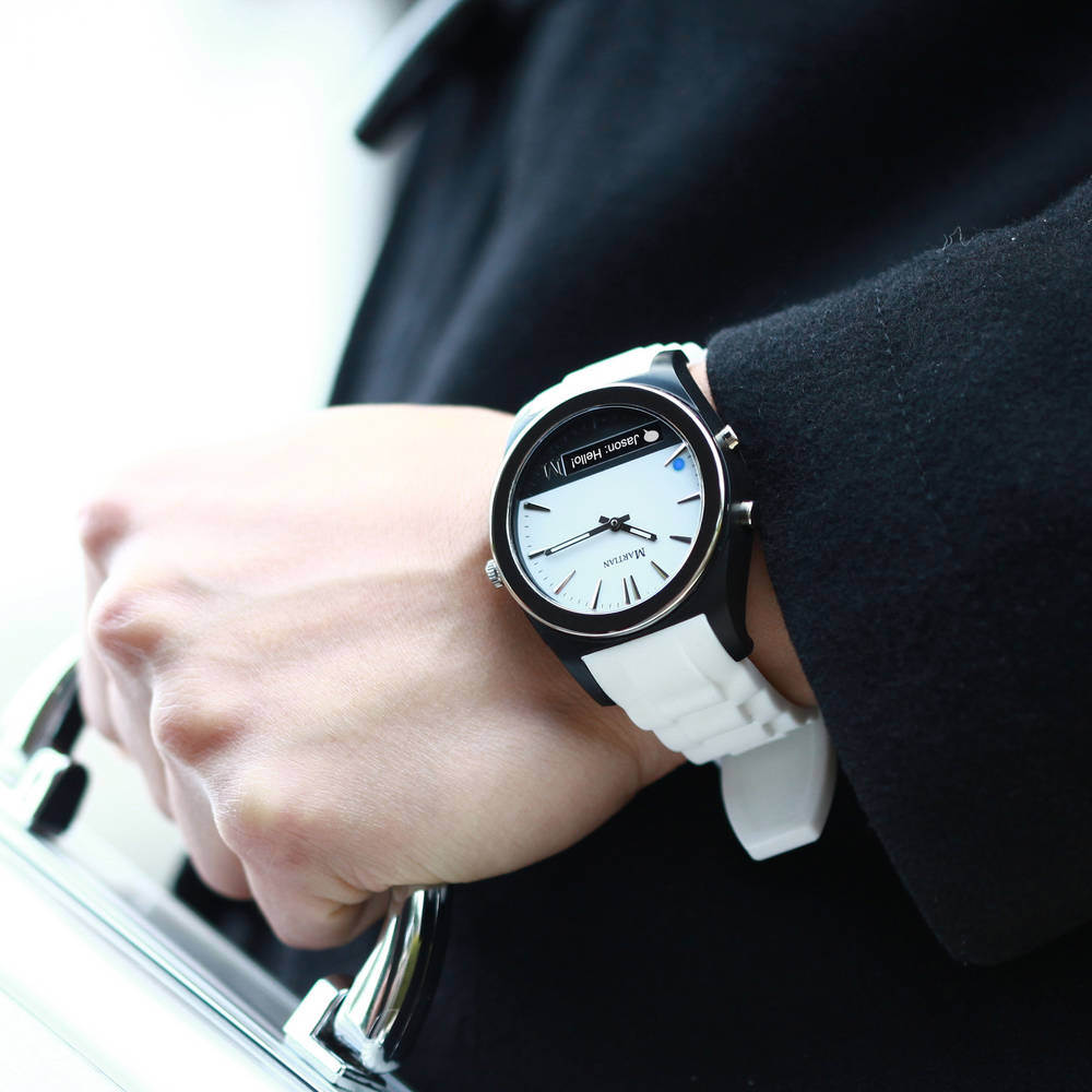Martian Notifier Smartwatch - A Hands-Free Way of Staying Informed