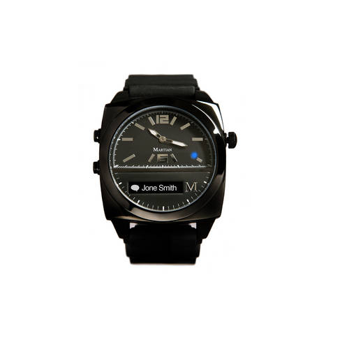 Victory Smartwatch in Black/Black