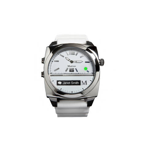 Victory Smartwatch in White/Silver