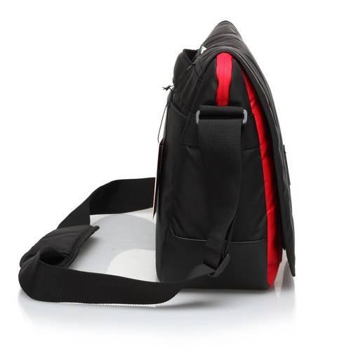 Black Travel Messenger Bag - Ferrari