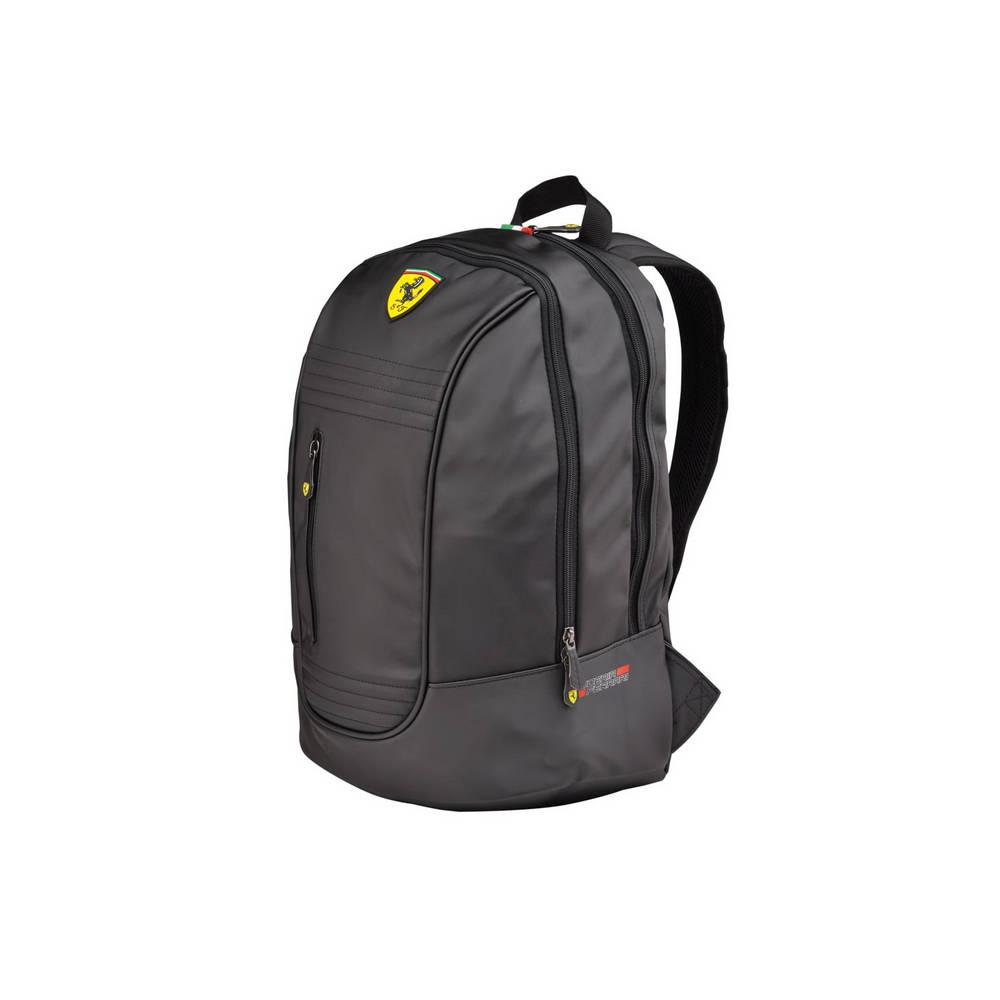 Black Santander Backpack - Ferrari