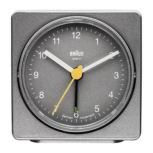 Square Quartz Alarm Clock