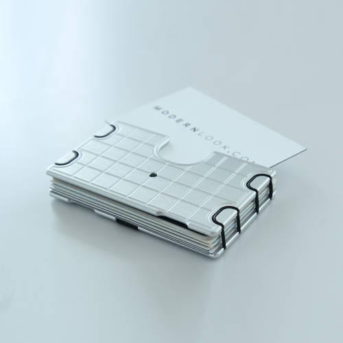 Wallum A1 Silicone Card Holder Wallet | Aluminum Wallet