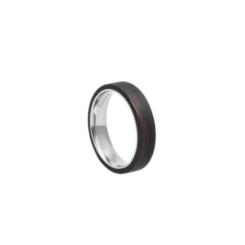 Mono Slim Ebony Ring
