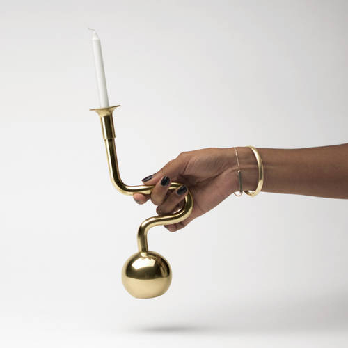 Horn Candle Holder | Tom Will Make