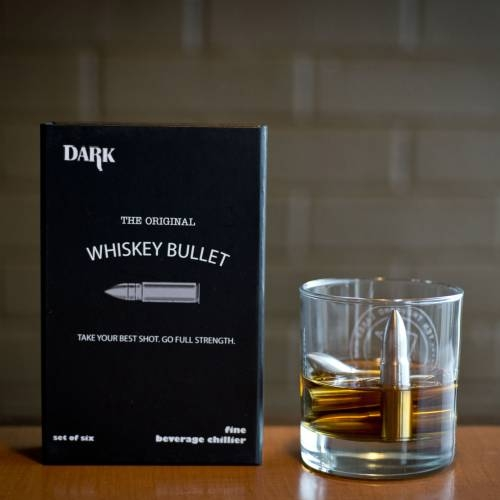 The Original Whiskey Bullet | Stainless Steel | Sip Dark