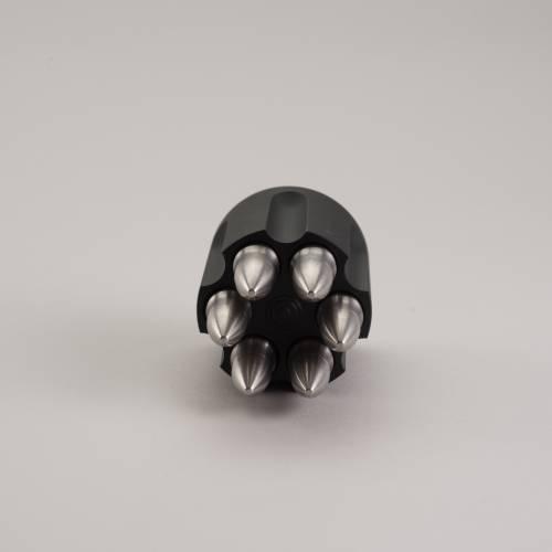 Whiskey Bullet Holder   Aluminum Cylinder   SipDark