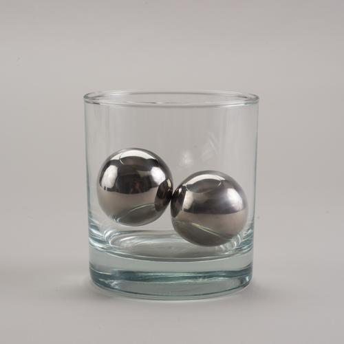 LoBall Whiskey Spheres | Small | Stainless Steel | SipDark
