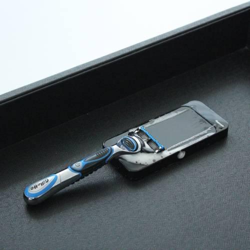 Slide Razor Blade Sharpener