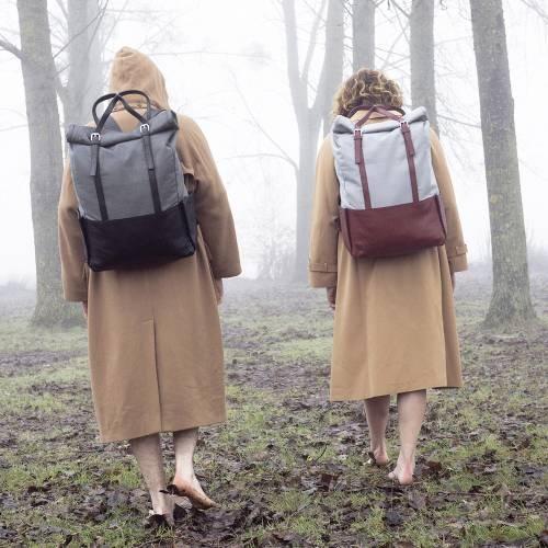 Bordeaux  Leather Backpack | Voyager
