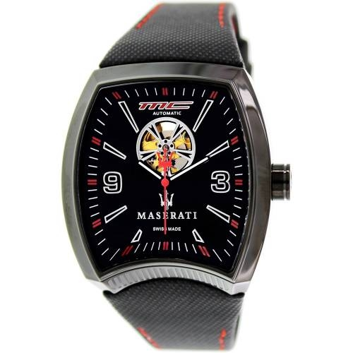 Corsa Black Automatic, Leather