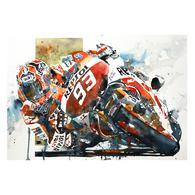 Print   Marc Marquez   MotoGP   Honda