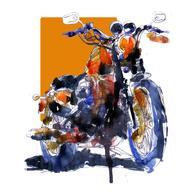 Print   Harley-Davidson Sportster