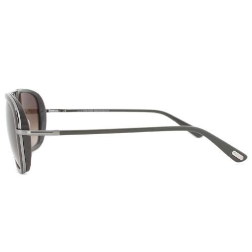 Tom Ford FT0340 14K Riccardo Square Sunglasses