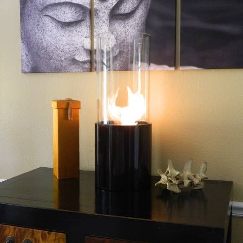 Doppio Noir Fireplace - The Perfect Backdrop for Bright