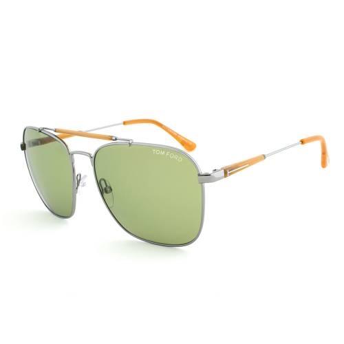 Tom Ford Edward Gunmetal Pilot Sunglasses