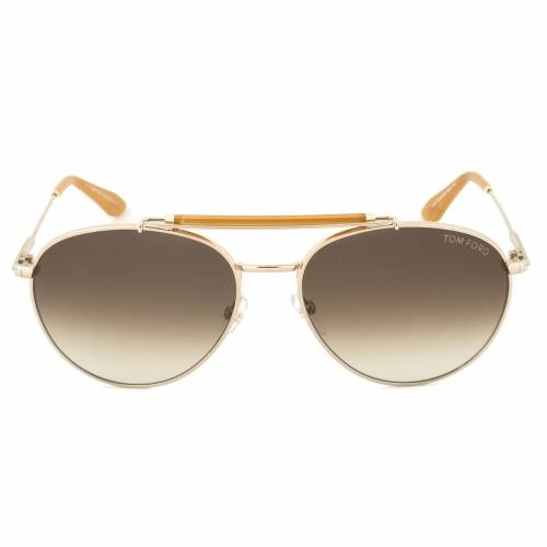 Tom Ford TF338 28F Colin Gold Aviator Sunglasses