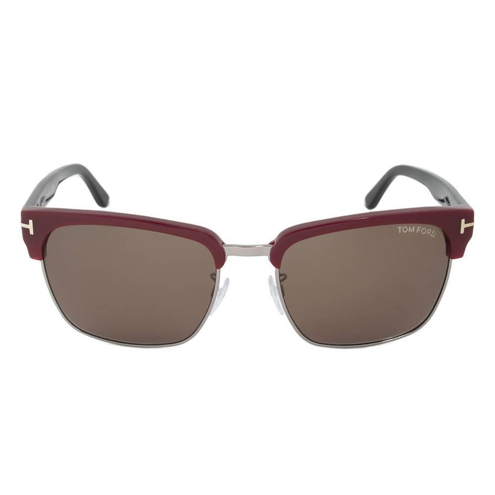 Tom Ford TF367 70J Sunglasses   Mahogany/Gunmetal Frame