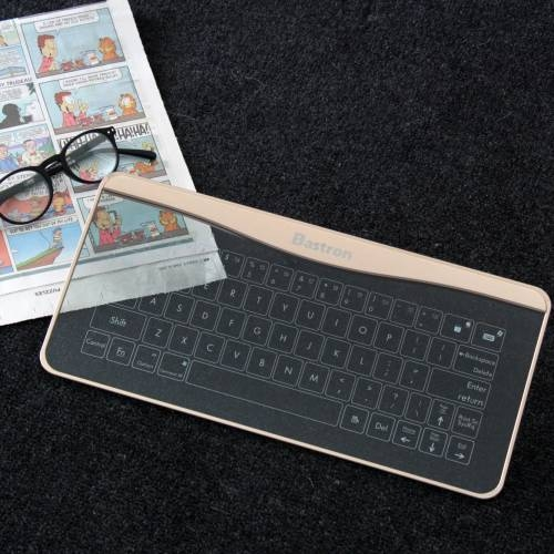 Glass Touch Smart Keyboard  B6 | Bastron