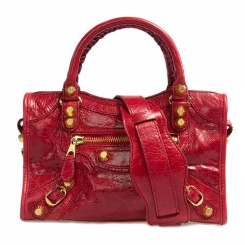 Balenciaga Mini Red City Tote