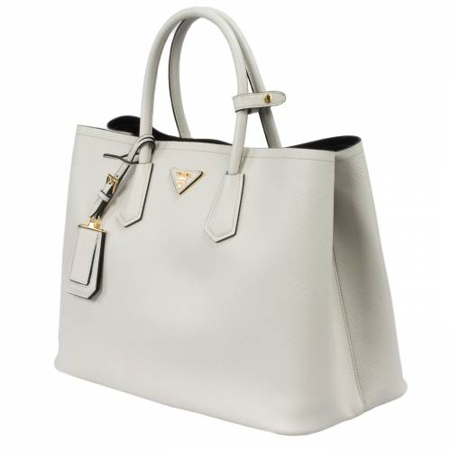 3ab036ce2d56 50% off prada saffiano cuir shopping bag 648b4 2f352